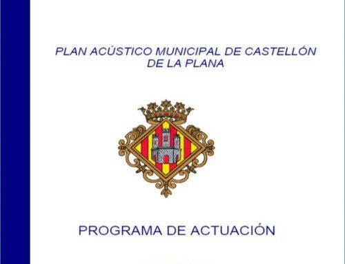 Acusttel proporciona asistencia técnica en materia de contaminación acústica al ayuntamiento de Castellón