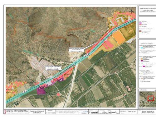 Los planes de acción en materia de contaminación acústica de los grandes ejes viarios y ferroviarios de la Generalitat Valenciana segunda fase de la directiva 49/2002 realizados por Acusttel están en fase de exposición pública