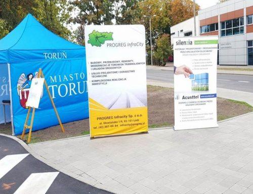 Acusttel patrocina la inauguración de las obras del nuevo tranvía de Torun
