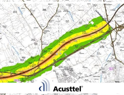 Acusttel entrega los mapas estratégicos de ruido de la AP-7 y la B-23
