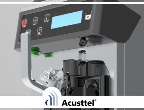 Acusttel desarrolla para Carpigiani Horeca una máquina de producción de helados de bajas emisiones acústicas